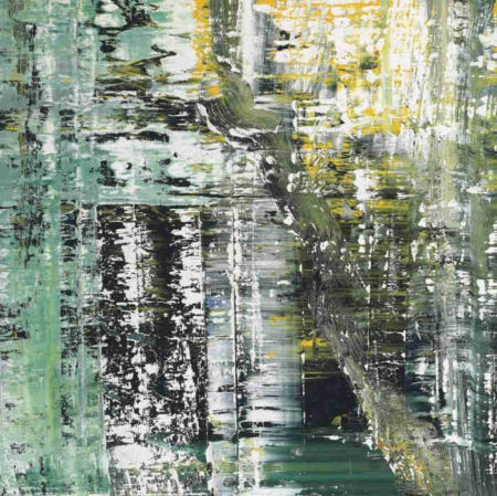 Gerhard Richter-Cage Grid (Single Part O)-2011