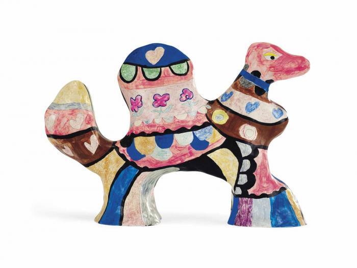 Niki de Saint Phalle-Mini chameau (Mini Camel)-1970
