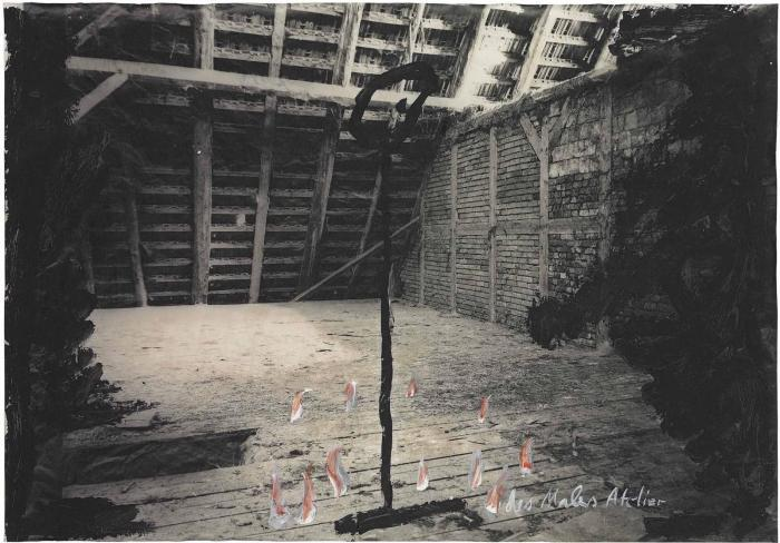 Anselm Kiefer-Des Malers Atelier (The Painter's Studio)-1980