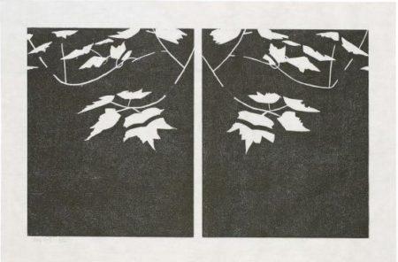 Alex Katz-Black Pond (Parkett 21) / Black Brook-1989