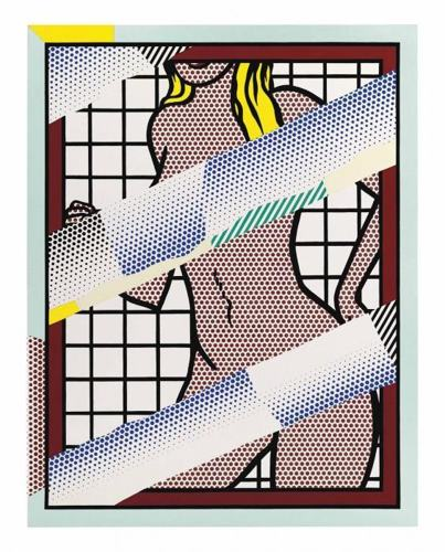 Roy Lichtenstein-Reflections on Jessica Helms-1990
