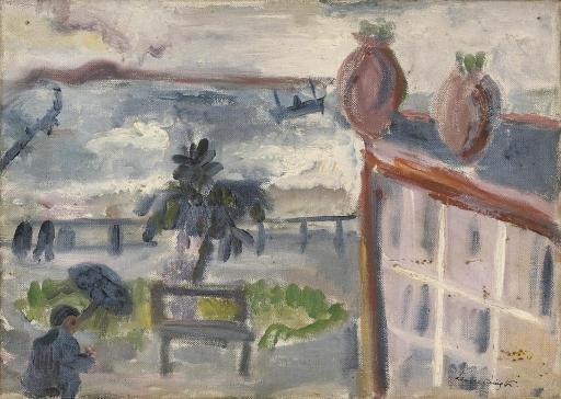 Leonora Carrington-Racachon, Evening/Mule and cart-1936
