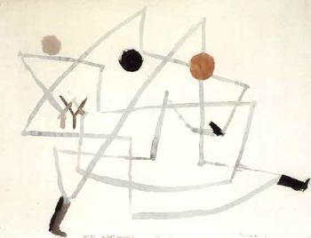 Paul Klee-Verhext Und Eilig-1933