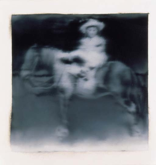 Gerhard Richter-Kind auf Einem Pferd (Child on a Horse)-1965