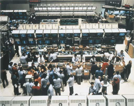 Andreas Gursky-New York Mercantile Exchange-1991