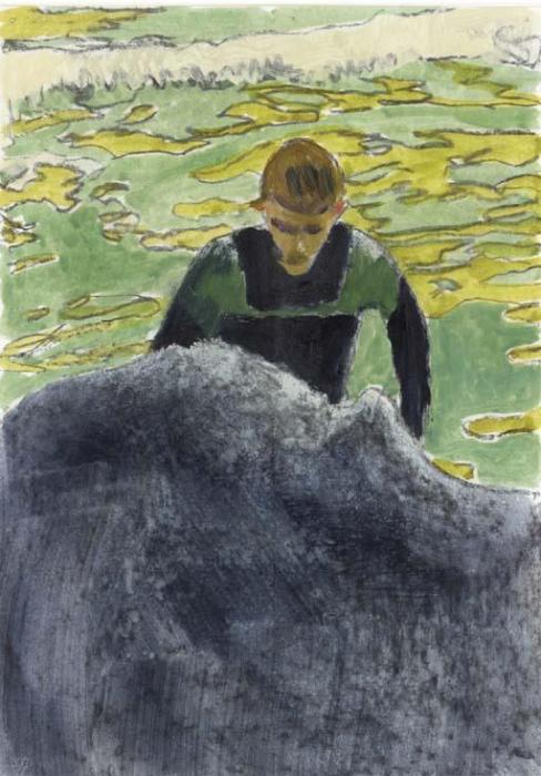 Peter Doig-Surfer-2002