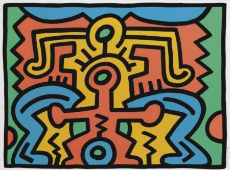 Keith Haring-KeithHaring - Growing 5 (L. p. 91)-1988