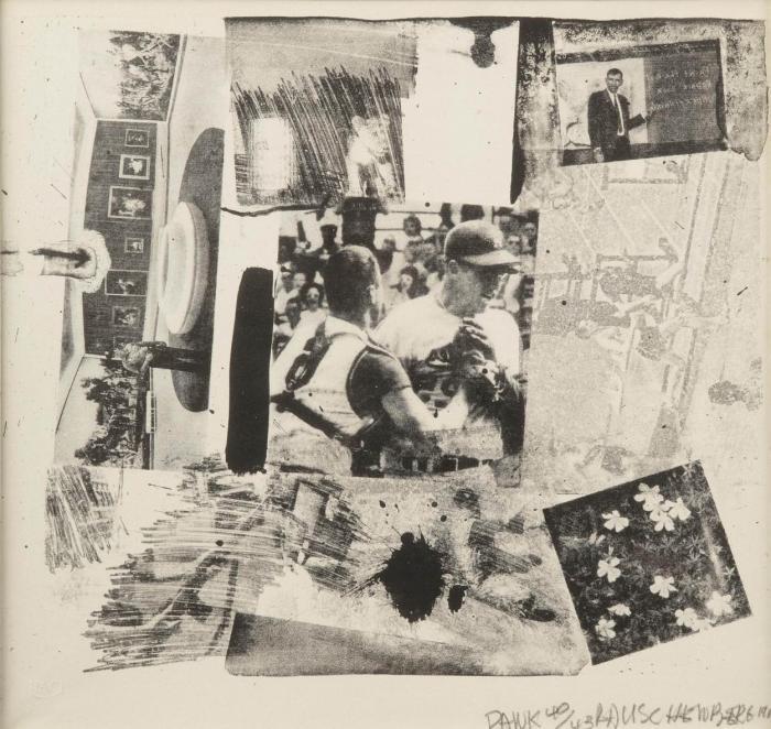Robert Rauschenberg-Robert Rauschenberg - Rank-1964