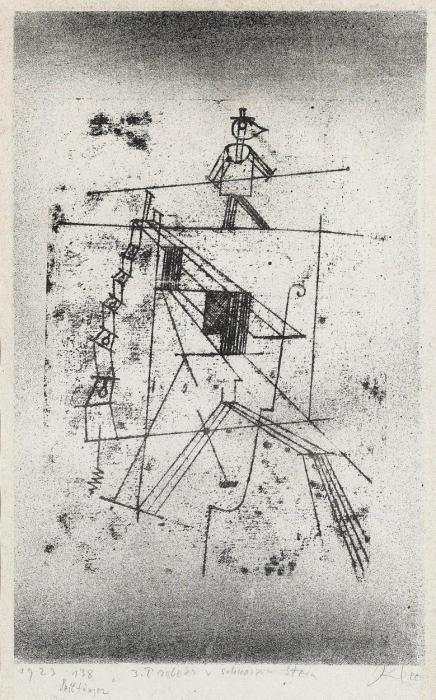 Paul Klee-Der Seiltanzer-1923