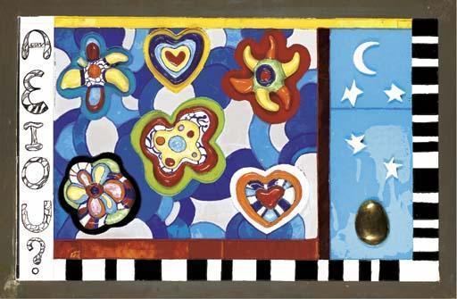 Niki de Saint Phalle-A.E.I.O.U-1987