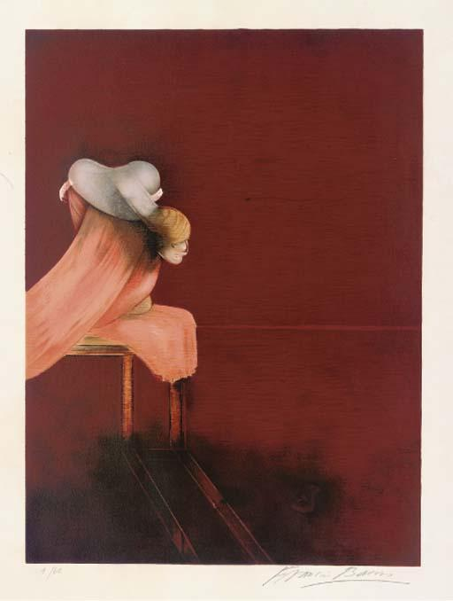 Francis Bacon-Left Panel, from Second Version of Triptych 1944-1989
