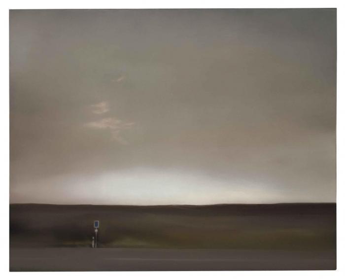 Gerhard Richter-Eifellandschaft (Strasse) /  Eifel Landscape (Street)-1969
