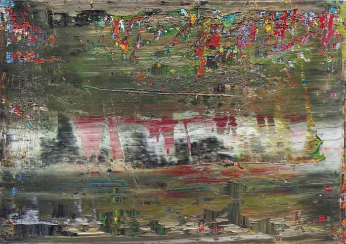 Gerhard Richter-Abstraktes Bild 708-1 (Abstract Painting 708-1)-1989