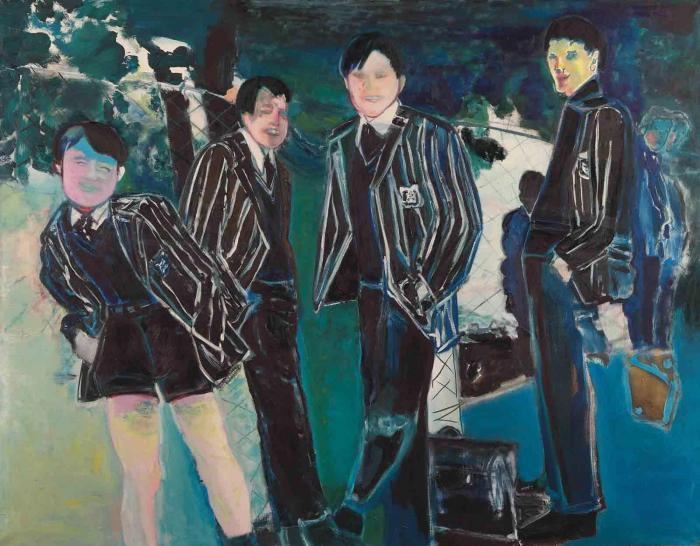 Marlene Dumas-The Schoolboys-1987