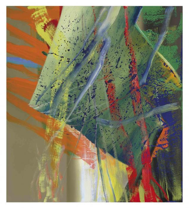 Gerhard Richter-Abstraktes Bild 568-1 (Abstract Painting 568-1)-1984