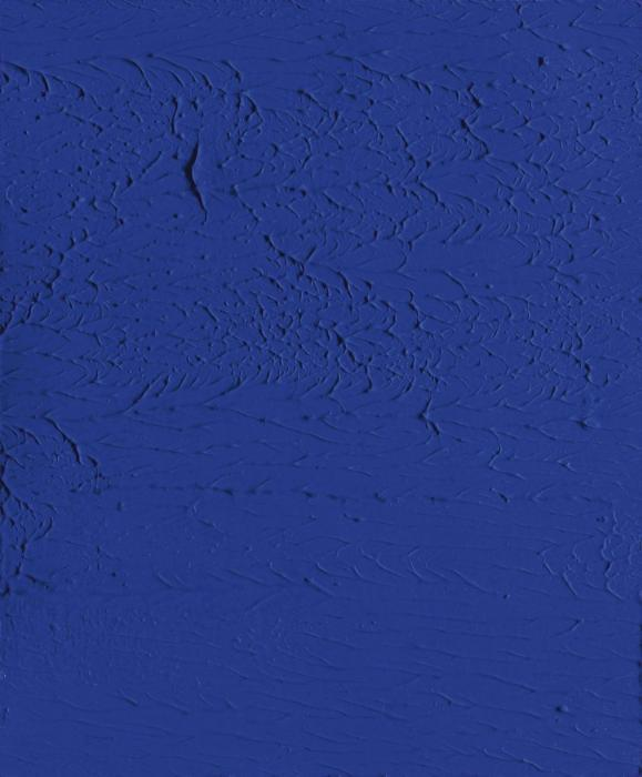 Yves Klein-Monochrome bleu (Untitled)-1959