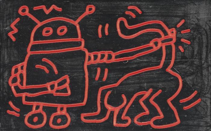 Keith Haring-Keith Haring - Untitled-1983