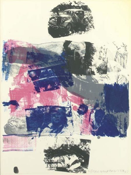 Robert Rauschenberg-Robert Rauschenberg - Still From Reels (Bonnie And Clyde)-1968