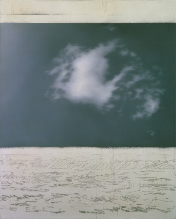 Gerhard Richter-Wolke (Cloud)-1969