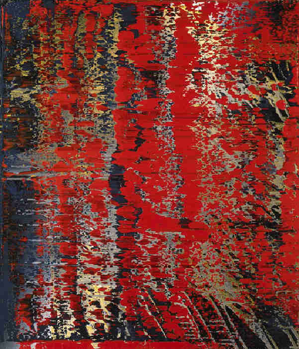 Gerhard Richter-Abstraktes Bild 682-2 (Abstract Painting 682-2)-1988