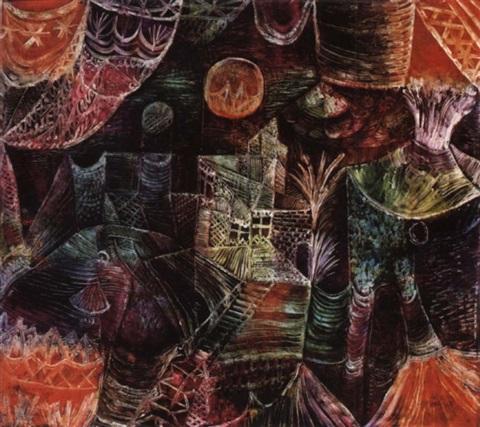 Paul Klee-Buhnenlandschaft-1922