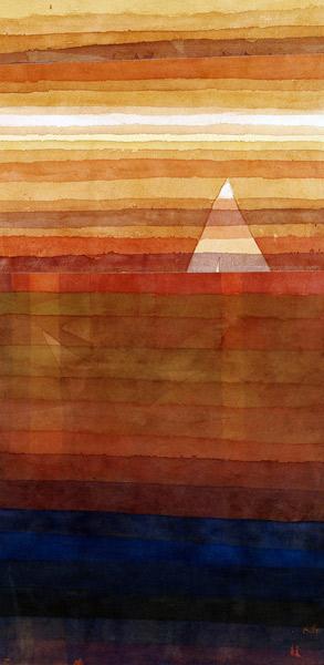 Paul Klee-Einsames-1928