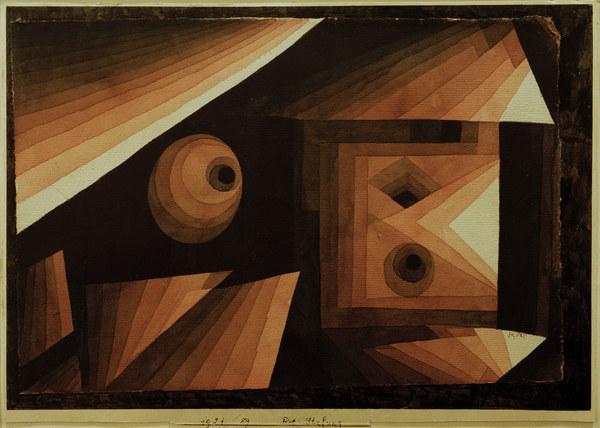 Paul Klee-Rot Stufung-1921