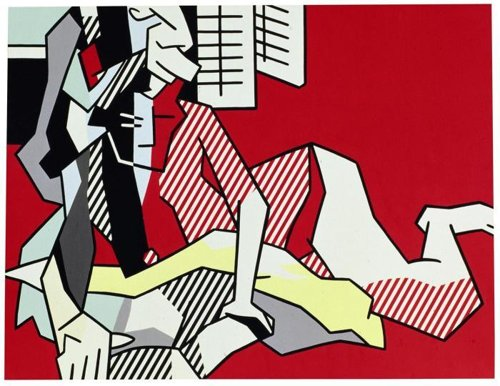 Roy Lichtenstein-Woman Reading-1980