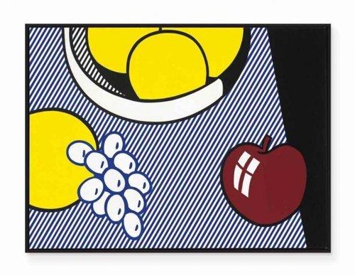 Roy Lichtenstein-Apples, Grapes, Grapefruit-1974