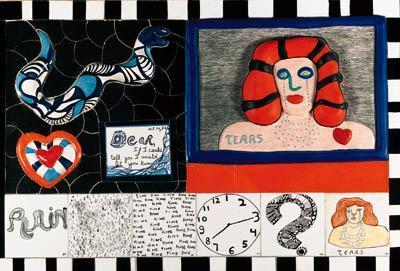 Niki de Saint Phalle-Tears-1988