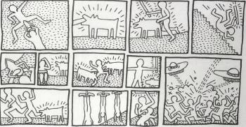 Keith Haring-Keith Haring - The Blueprint Drawings-1990