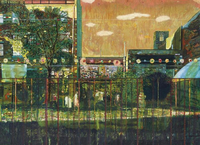 Peter Doig-Night Playground-1998