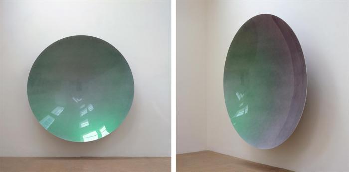 Anish Kapoor-Green Rainbow Mirror (Untitled)-2005