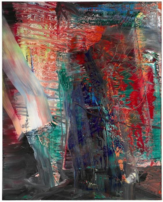 Gerhard Richter-Abstraktes Bild 611-3 (Abstract Painting 611-3)-1986