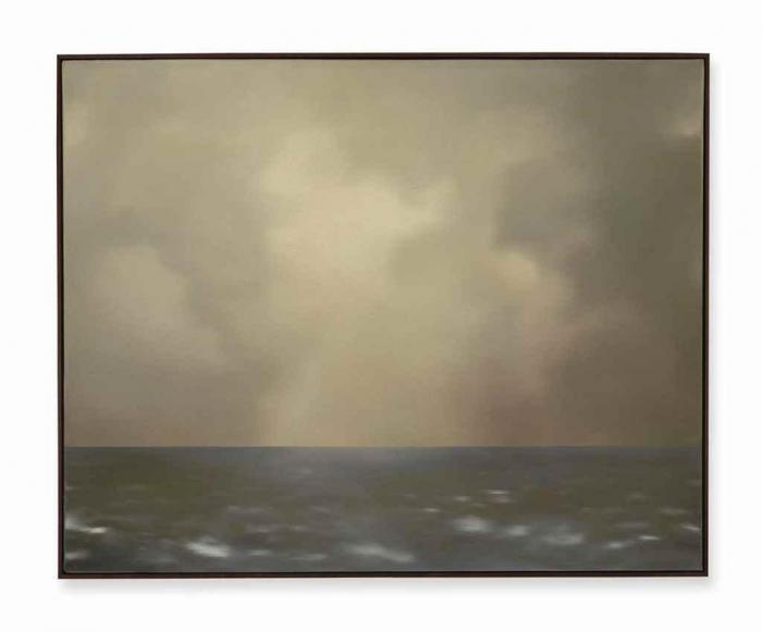 Gerhard Richter-Seestuck (Oliv bewolkt) / Seascape (With Olive Clouds)-1969