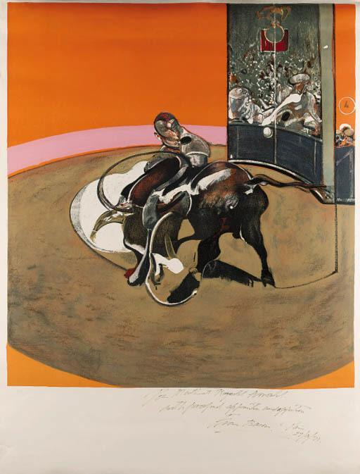 Francis Bacon-Study for Bullfight No 1-1971