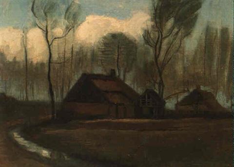 Vincent van Gogh-Fermes, Hoogeveen-1883