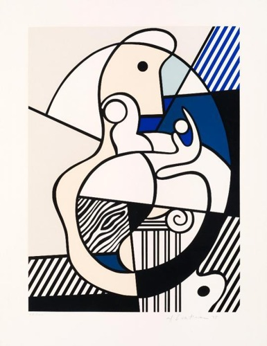 Roy Lichtenstein-Homage to Max Ernst-1975