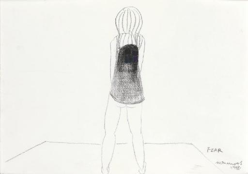 Marlene Dumas-Fear-1998