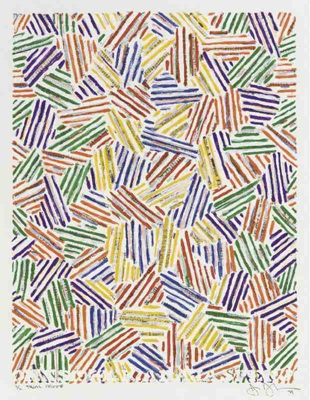 Jasper Johns-Cicada (ULAE 204)-1979