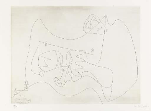 Le Corbusier-Naissance du Minotaure-1966