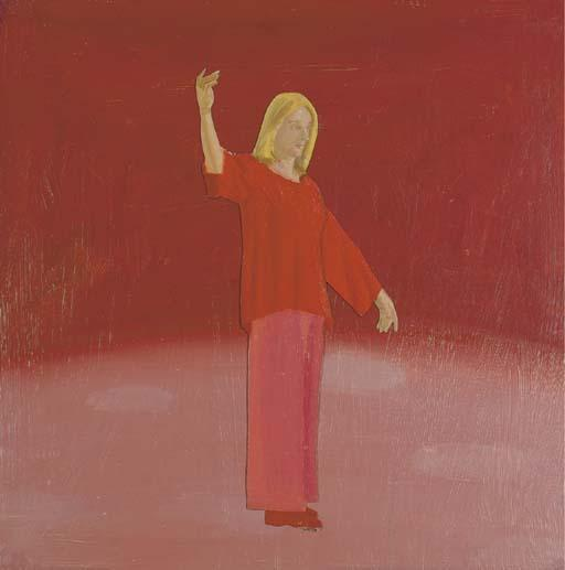 Alex Katz-Dancer-1976