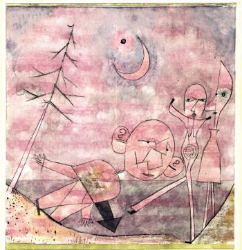 Paul Klee-Scene Am Wasser (Lakeside Scene)-1922