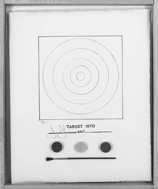 Jasper Johns-Target (ULAE 89; G. 87)-1970