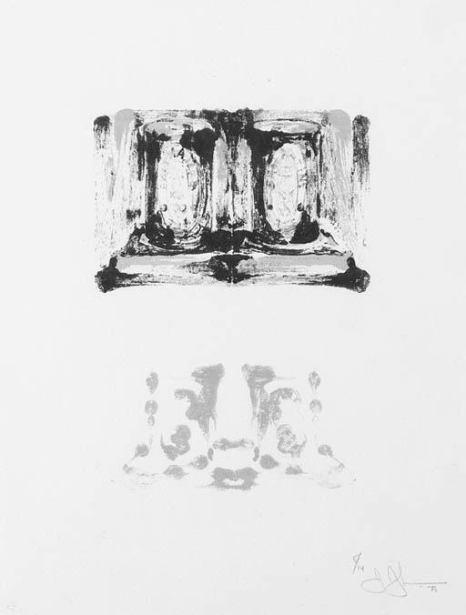 Jasper Johns-Ale Cans (II)-1975