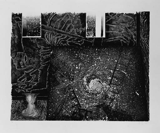 Jasper Johns-Untitled (ULAE 256)-1992