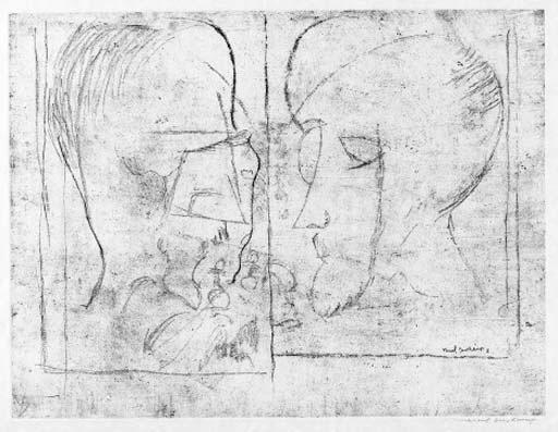 Marcel Duchamp-The Chess Players (S. 621b)-1965