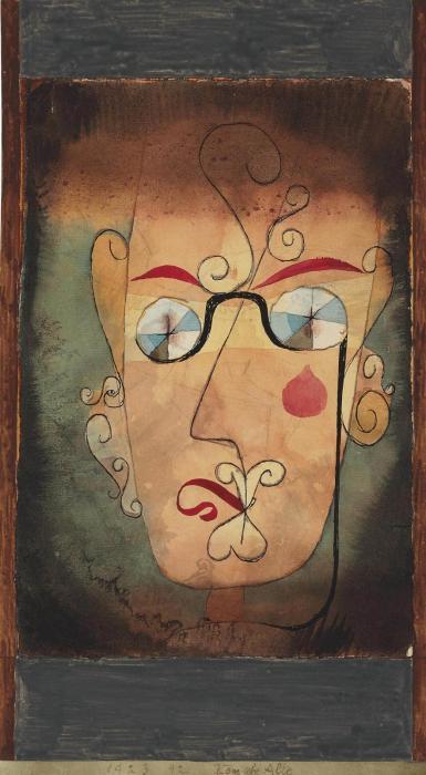 Paul Klee-Komische Alte-1923