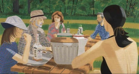 Alex Katz-Summer Picnic-1975