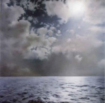 Gerhard Richter-Seascape (Contre-jour) / Seestuck (Gegenlicht)-1969